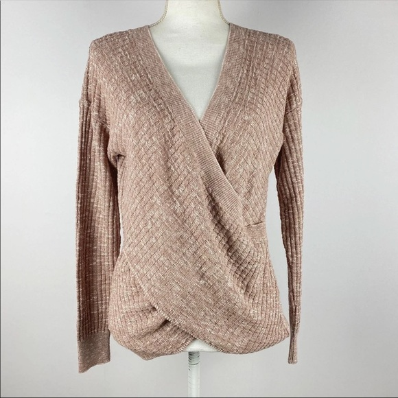 NWT Express Wrap Front Sweater